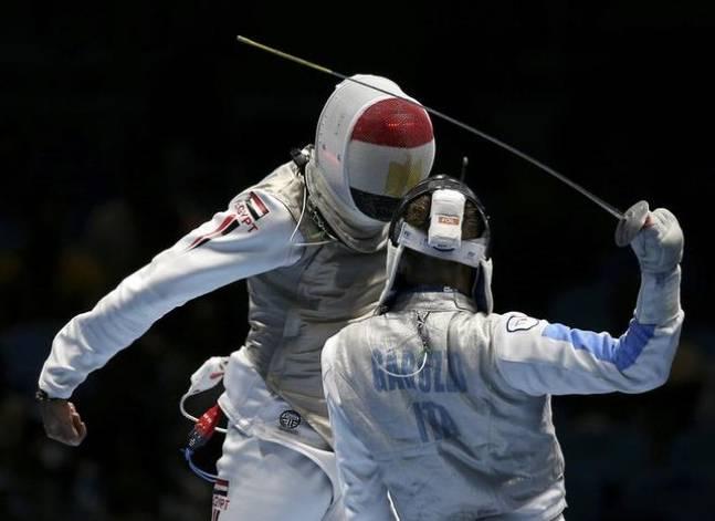 أيمن فايز يتأهل إلى دور 16 في منافسات الشيش بالأولمبياد