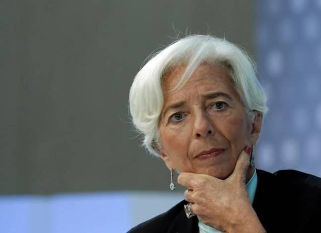 لاجارد: وصول الفارق بين سعري الجنيه إلى 100% يعبر عن أزمة