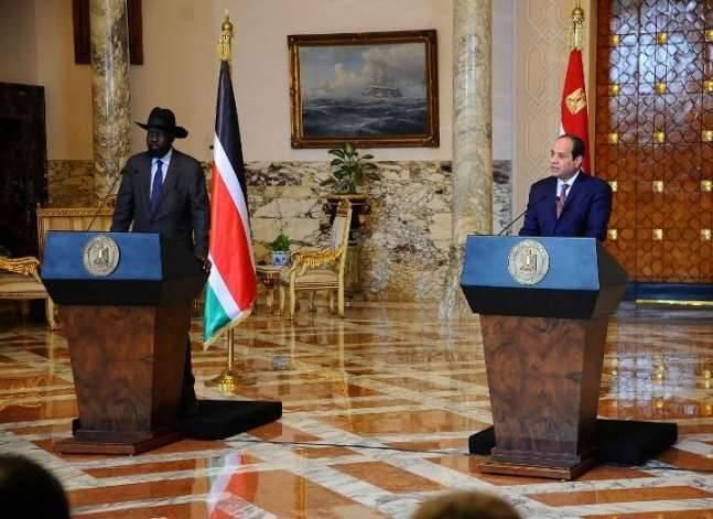 السيسي: مصر تواصل دعمها لعملية السلام في جنوب السودان