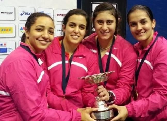 مصر تُتوج ببطولة العالم لإسكواش السيدات بعد تغلبها على إنجلترا