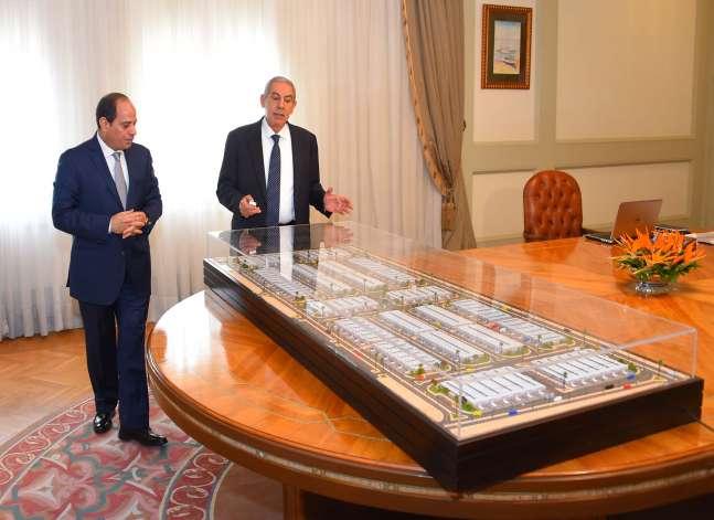 الرئاسة: إقامة 500 منشأة صناعية جاهزة لخدمة المشروعات الصغيرة والمتوسطة