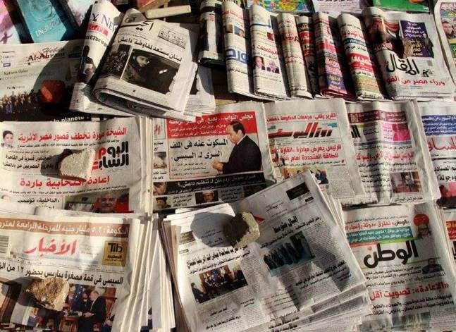تأكيدات السيسي وكشف المطرية وتفويض مرتضى.. أبرز عناوين الصحف