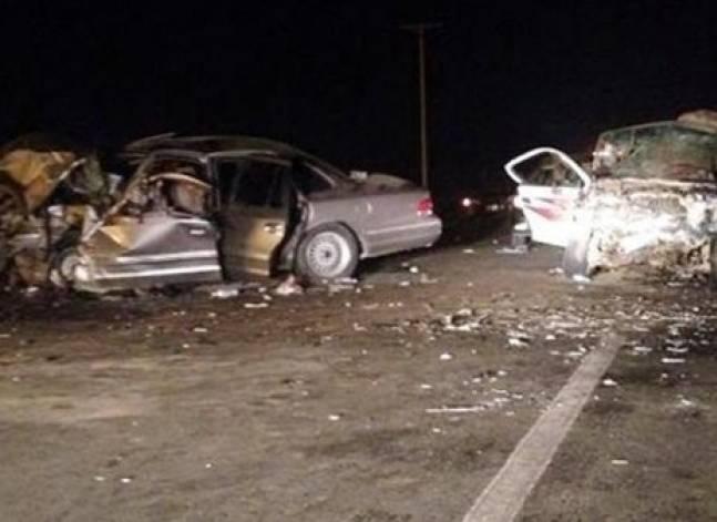 مقتل 5 أشخاص وإصابة 20 في حادث مروري بطريق قليوب- شبين القناطر