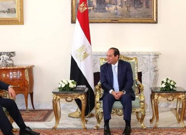 السيسي: مصر ترحب بتعزيز التعاون مع العراق في جميع المجالات