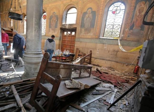 النيابة: فحص أشلاء جثة قد تكون ذات صلة بتنفيذ حادث انفجار الكنيسة