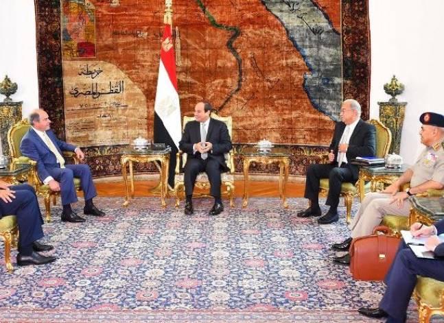 السيسي ورئيس الوزراء الأردني يتفقان على مواصلة تطوير الجامعة العربية