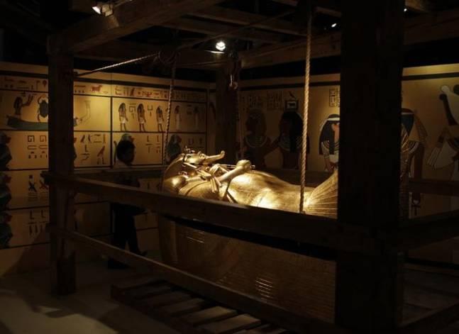 الاثار: إجراء مسح راداري جديد لمقبرة توت عنخ آمون نهاية أبريل