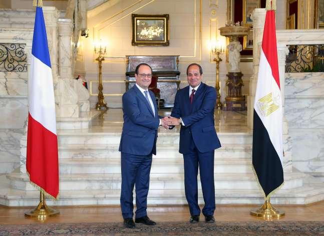 الإليزيه: فرنسا وقعت عقودا بملياري يورو مع مصر