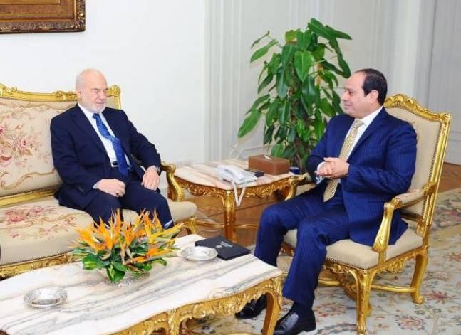 السيسي: مصر مستعدة لدعم جهود إعادة الأمن والاستقرار إلى العراق