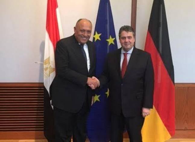 أصوات مصرية - وزير الخارجية يؤكد في ألمانيا تأييد مصر لدور المجتمع ال