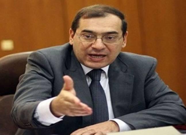 وزير البترول: نتوقع تحقيق اكتفاء ذاتي من الغاز بحلول 2020