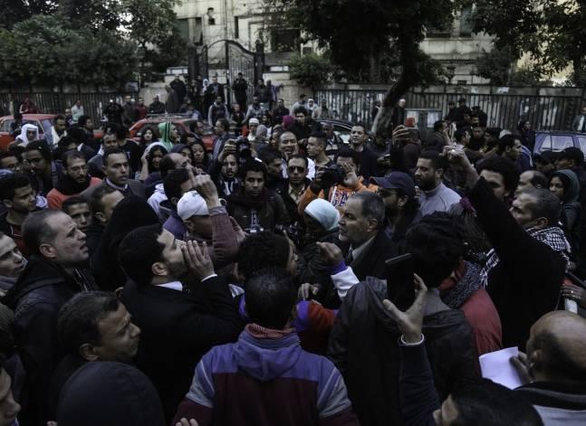 أصوات مصرية - محام: منظمو تظاهرة مجلس الوزراء يدرسون إجراء قانونيا
