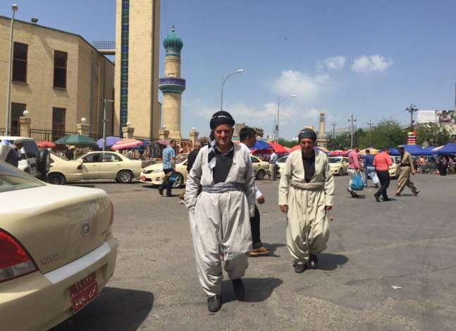 20 صورة مصرية من كردستان العراق.. وعادل إمام في الصدارة