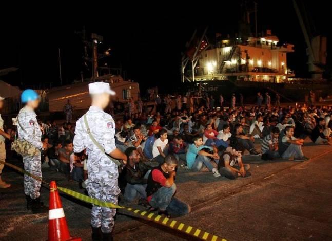 الجيش: إحباط محاولة 674 شخصا الهجرة غير شرعية عبر الحدود