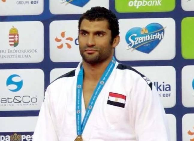 رمضان درويش يخسر أمام بطل أذربيجان وينافس على برونزية الجودو بالأولمبياد