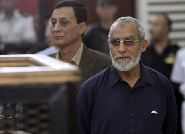 محكمة عسكرية: سجن بديع 10 سنوات في أحداث عنف بشمال سيناء