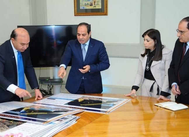 السيسي يوافق على خطة تطوير الموانئ في منطقة تنمية قناة السويس