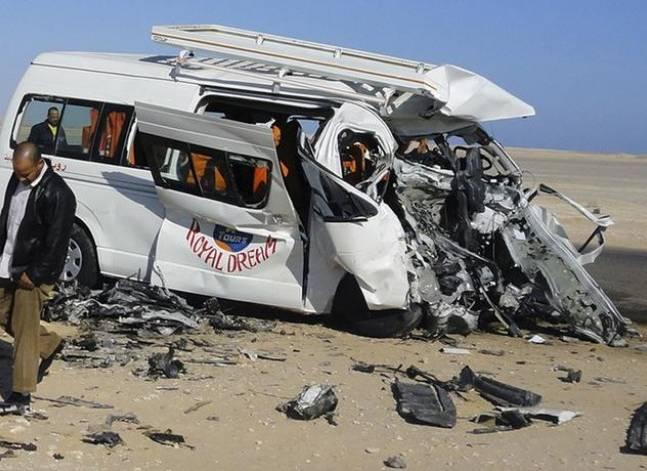 مقتل 3 وإصابة 2 آخرين في حادث مروري بطريق مصر إسكندرية