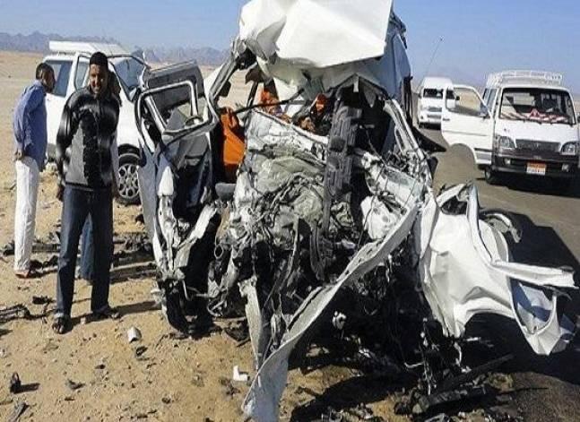 مصدر أمني: مقتل 11 شخصا وإصابة 15 في حادث تصادم بطريق حلوان الكريمات