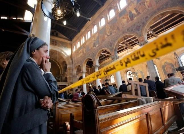 بالفيديو.. داعش ينشر تسجيلا مصورا منسوبا لمفجر الكنيسة البطرسية