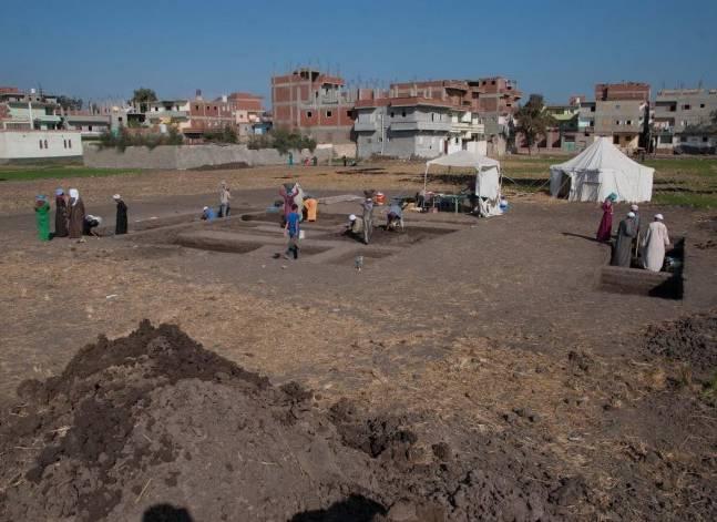 """الآثار: اكتشافات جديدة للبعثة المصرية الألمانية في """"بر-رمسيس"""" بالشرقية"""