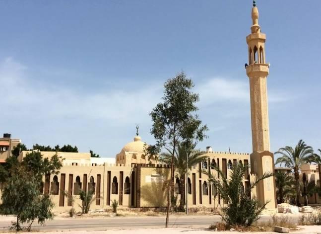 بالفيديو- في شمال سيناء.. أئمة في مهمة حرب