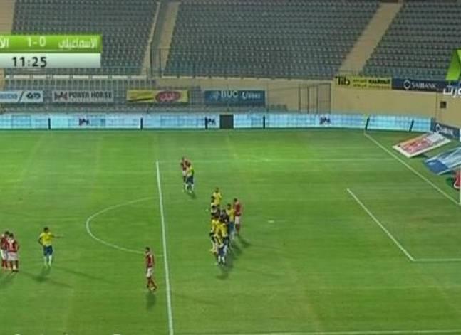 الأهلي يتعادل مع الإسماعيلي بدون أهداف في الدوري