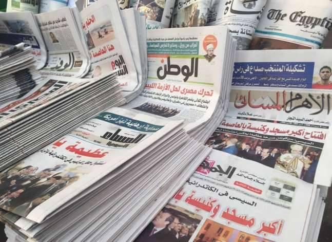 توجيهات السيسي بضبط أسعار الأدوية وموجة الطقس السيئ يتصدران صحف الأحد