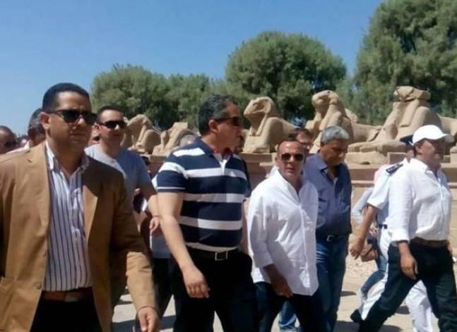 """الآثار: افتتاح معبد """"آمون رع"""" بالأقصر بعد ترميمه"""