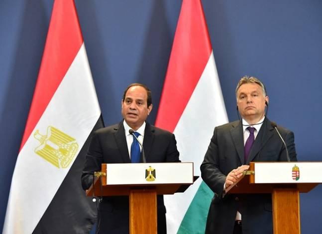 السيسي ورئيس وزراء المجر يشهدان توقيع عدد من الاتفاقيات