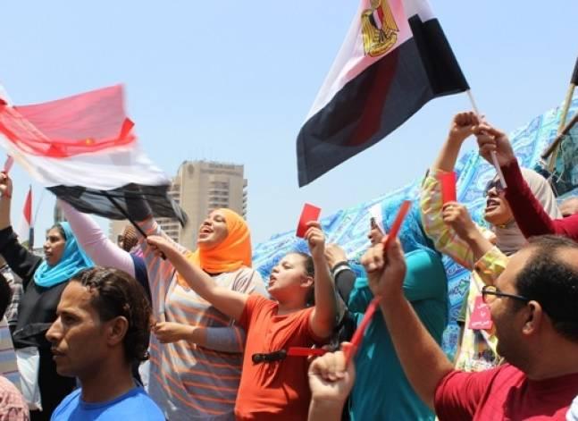 بالصور .. المرأة قوة 30 يونيو الناعمة