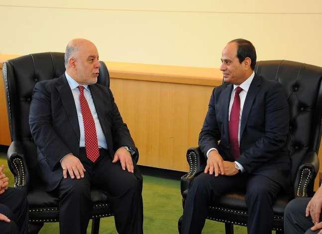 السيسي: مصر تدعم جهود العراق في مكافحة الإرهاب