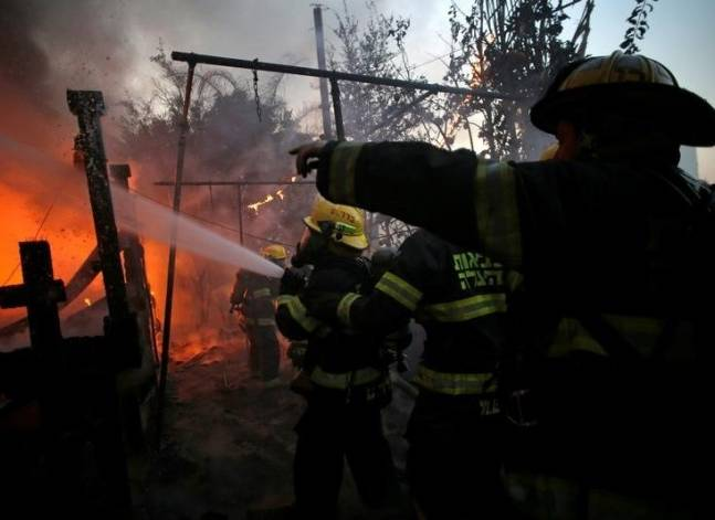 الصحة: إصابة 31 شخصا في حريق بأحد العقارات بالإسماعيلية