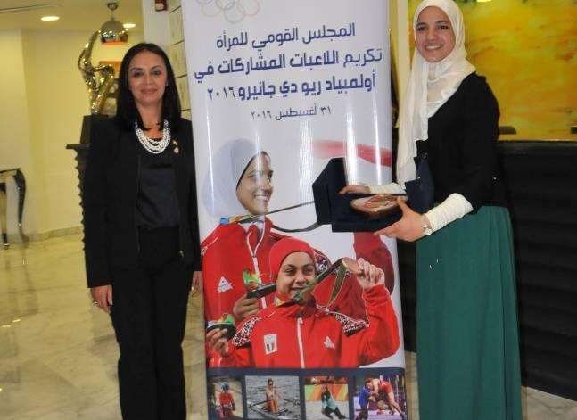 مايا مرسي: بطلات مصر شرفوها رغم الانتقادات