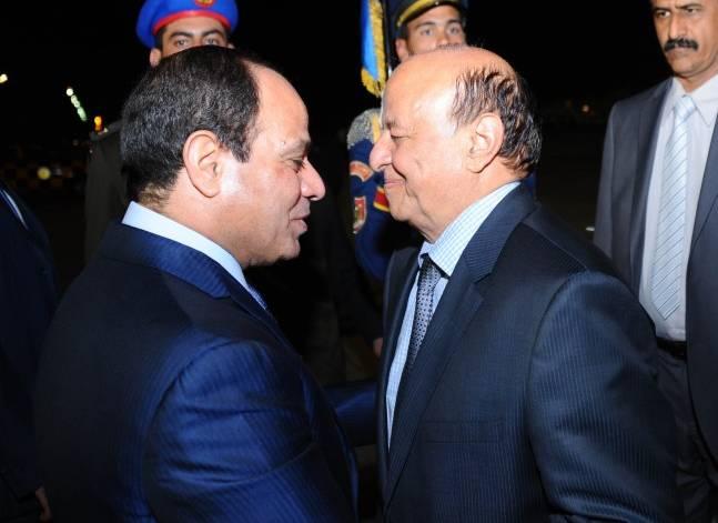 السيسي يستقبل الرئيس اليمني في نيويورك