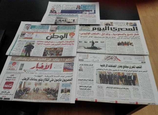 اغتيال السفير الروسي بتركيا ولقاء السيسي بوفد أمريكي يتصدر صحف اليوم