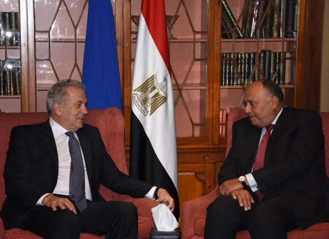 الخارجية: مسؤول أوروبي يدعو للتعاون مع مصر في قضية الهجرة غير الشرعية