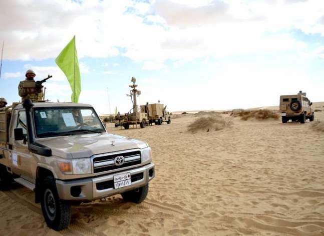 الجيش: ضبط 433 شخصا بمناطق حدودية أثناء محاولات هجرة غير شرعية