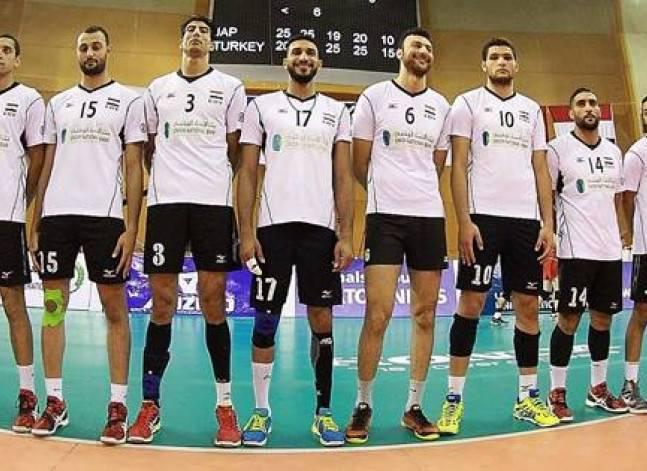 منتخب مصر للكرة الطائرة يفوز على كوبا في أولمبياد ريو