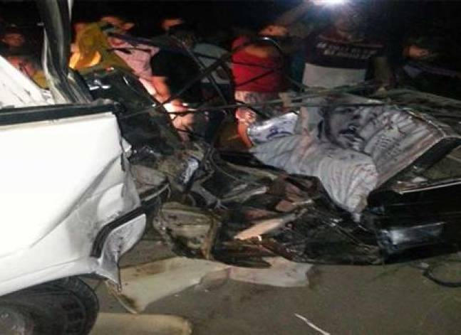 مقتل شخصين وإصابة 7 في حادث سير بسوهاج