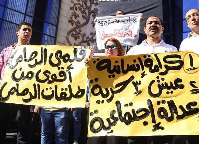 """""""الصحفيين"""" تدعو لاجتماع طارئ اليوم لبحث تداعيات احتجاز النقيب وعضوين بمجلسها"""