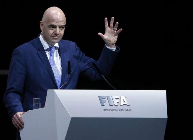 أبو ريدة: رئيس الفيفا يهنئ المنتخب المصري ويحضر مباراة النهائي اليوم