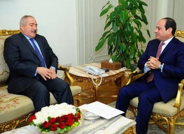 السيسي يتسلم دعوة من العاهل الأردني لحضور القمة العربية