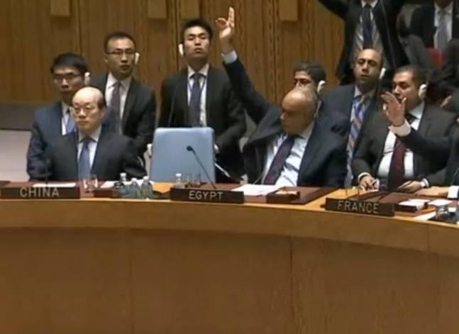 """مندوب مصر بمجلس الأمن: سحبنا قرار وقف الاستيطان بسبب """"ضغط ومزايدات"""""""
