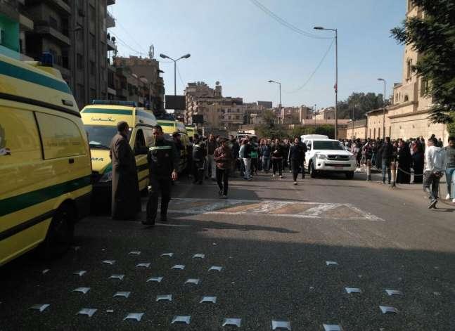 التلفزيون: ارتفاع قتلى انفجار الكاتدرائية إلى 25.. وتشكيل فريق لضبط الجناة