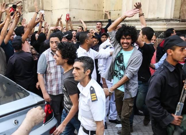 """رفض استئناف 25 من متظاهري """"جمعة الارض"""" على قرار تجديد حبسهم"""