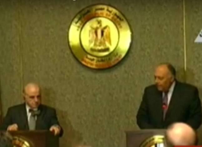 """شكري: المقاتلون """"الأجانب"""" خطر على الأمن..وموقف مصر تجاه سوريا ثابت"""
