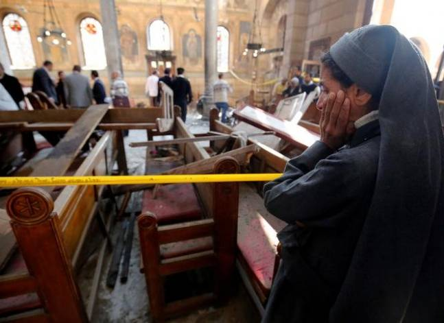 """ما بين تفجير """"القديسين"""" و""""الكاتدرائية""""..83 اعتداء على دور عبادة الأقباط"""