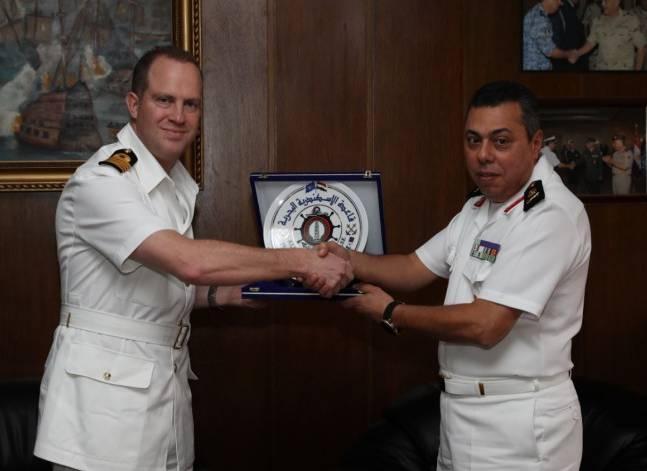 السفارة الإنجليزية: تدريبات بحرية مشتركة بين مصر وبريطانيا