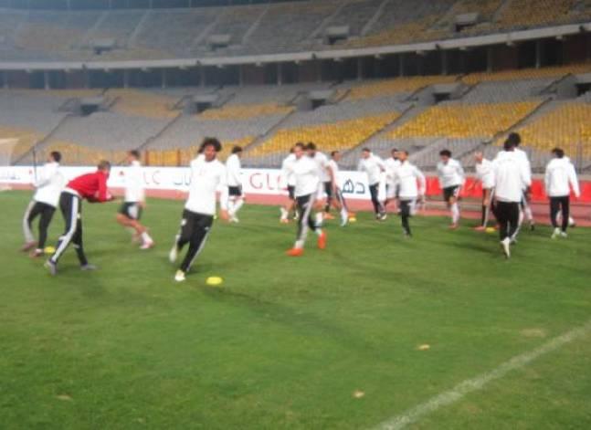 المنتخب الوطني يواصل استعداداته لغانا في تصفيات أفريقيا المؤهلة لكأس العالم